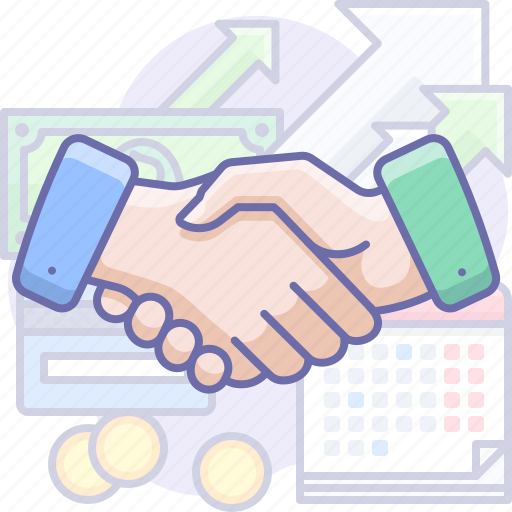 business, handshake, partner icon
