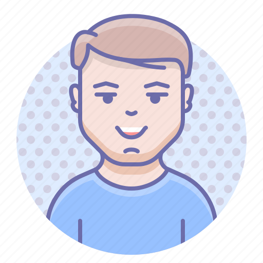 Happy, man, smile icon - Download on Iconfinder