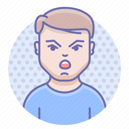Angry, man, scream icon - Download on Iconfinder