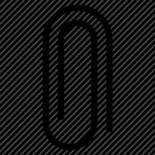 clip, office, paper, pin icon
