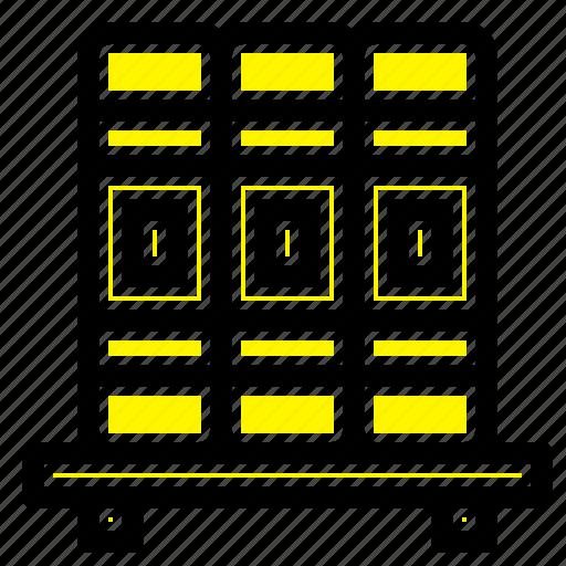 cupboard, education, studies icon