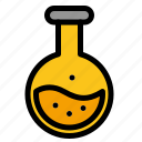 education, labe, science, test, tube icon