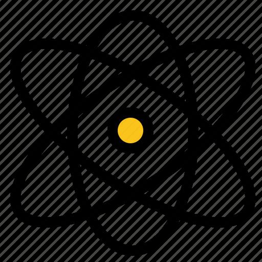 atom, education, physics, science icon