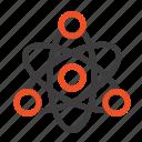 atom, educate, education