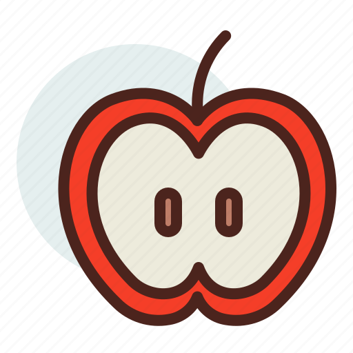 apple, education, learn icon