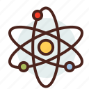 atom, education, learn, science, space