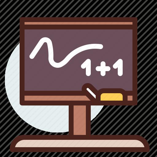 blackboard, education, learn icon