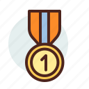 award, education, learn, prize icon