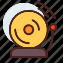 alarm, break, education, learn, pause, ring icon