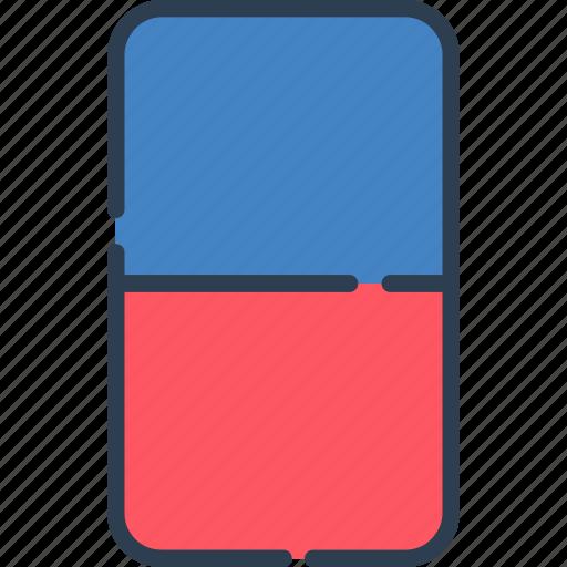 clean, erase, eraser, remove, study, tools icon