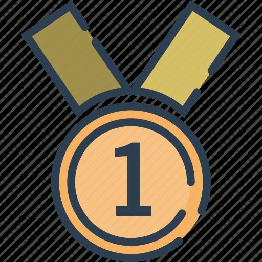 award, certificate, medal, reward, trophy, winner icon