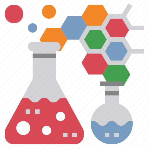 chemistry, education, graph, laboratory, science, test, tube icon