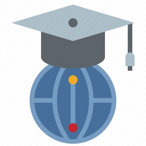 education, graduation, school, science, student, study, university icon