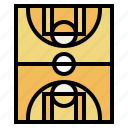 basketball, competition, field, sport, stadium icon
