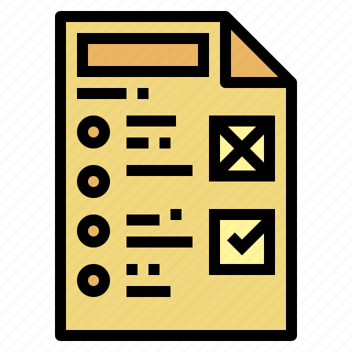 Education, exam, list, test icon - Download on Iconfinder