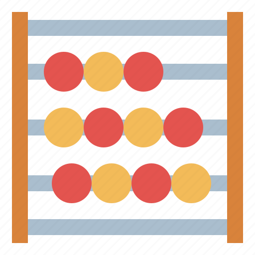 abacus, calculating, math, mathematical icon