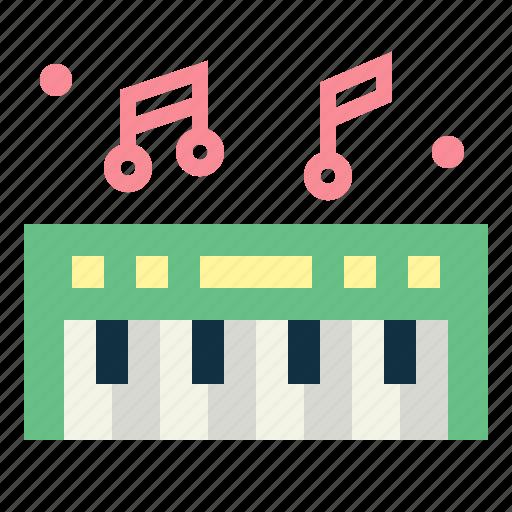 electronics, keyboard, music, piano icon