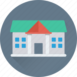 building, college, real estate, school, university icon