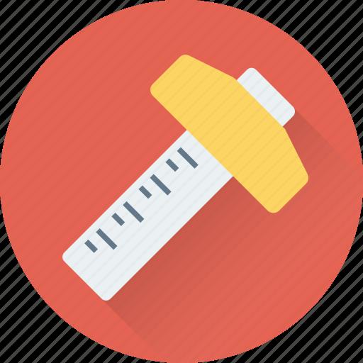 carpenter tool, decimal ruler, measure tool, ruler, t square icon