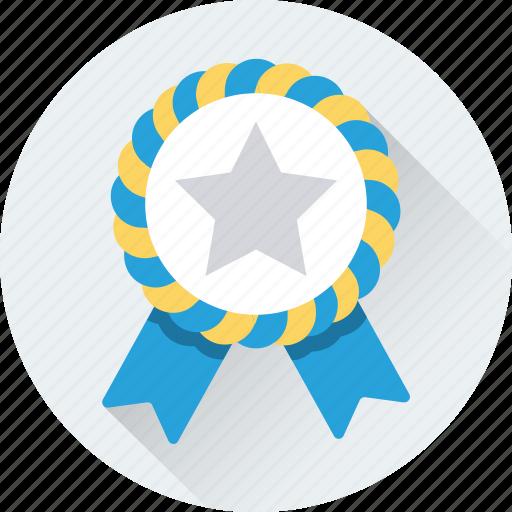 Award, badge, emblem, ribbon badge, star icon - Download on Iconfinder