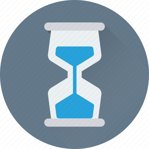 egg timer, hourglass, sand timer, sand watch, timer icon