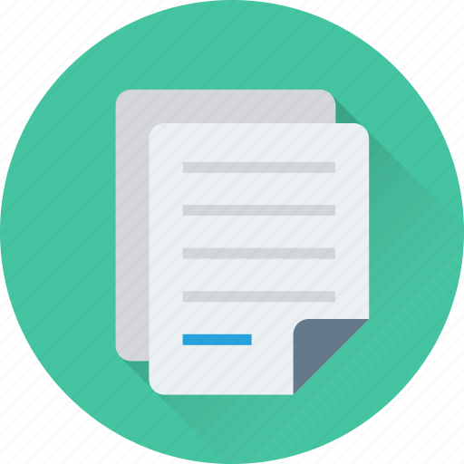 document, extension file, file, sheet, text document icon