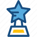 award, prize, star trophy, winner icon