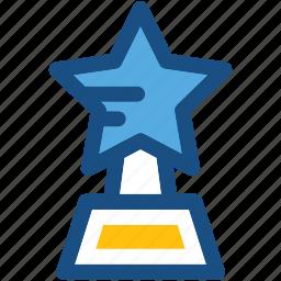 award, prize, star trophy, winner icon