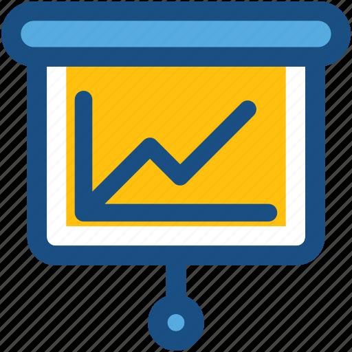 flipchart, presentation screen, projection screen, white board, writing board icon