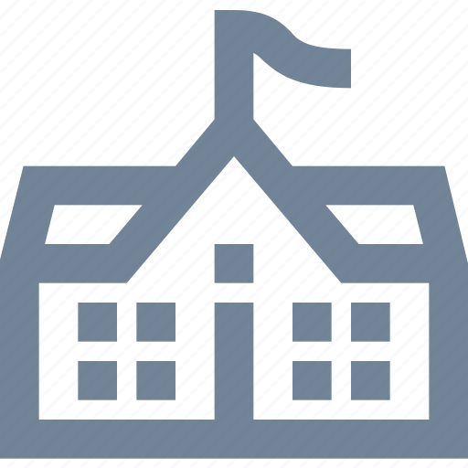 building, education, home, house, knowledge, rezidence, school, study icon