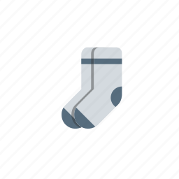cloth, garments, school, socks, study, uniform icon