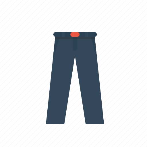 apparel, cloth, fashion, fullpant, school, uniform icon