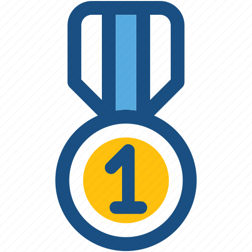 first place, first position, medal, position medal, prize icon