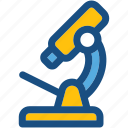 lab equipment, laboratory, microscope, research, science icon