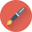 ballpoint, ink pen, pen, stationery, writing icon