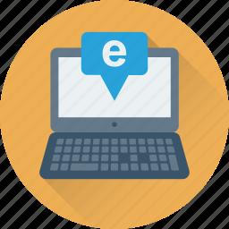 browsing, internet, laptop, online, web icon
