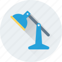 desk lamp, desk light, lamp, light, table lamp icon