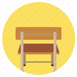 chair, education, rest, sit icon