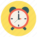 alarm, clock, education, timer icon