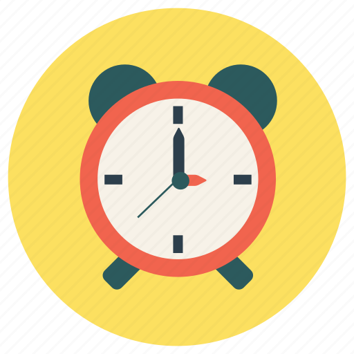 alarm, clock, education, timer icon