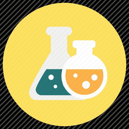 beaker, chemistry, education icon