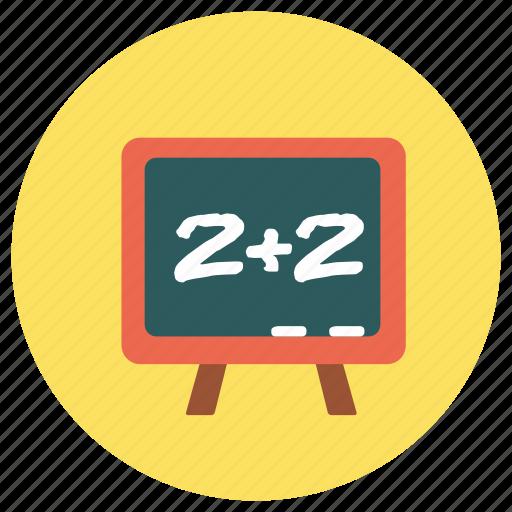 blackboard, education, study, teach icon