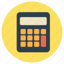 add, calculator, education, maths icon