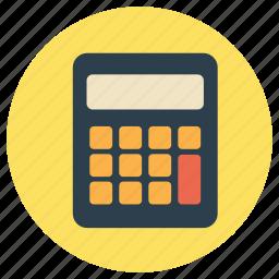 add, calculator, education, maths icon