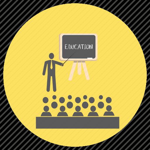 board, classroom, education, teach icon