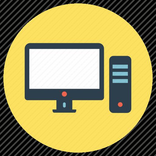 computer, desktop, education icon