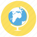 education, globe, map icon
