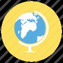 education, globe, map icon