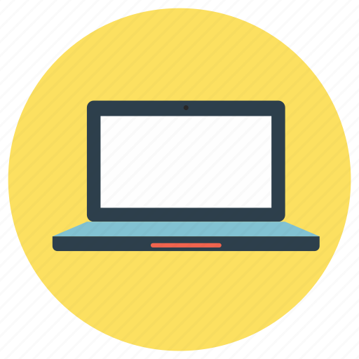 computer, education, laptop, pc icon