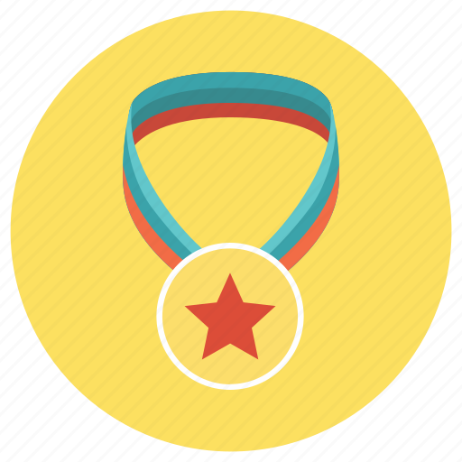 education, medal, merit, win icon